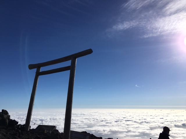 富士登山 (1)