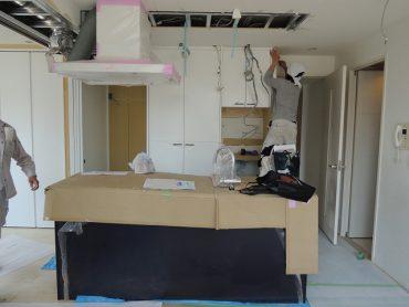 新宿区神楽坂リフォーム-設備取付 (5)