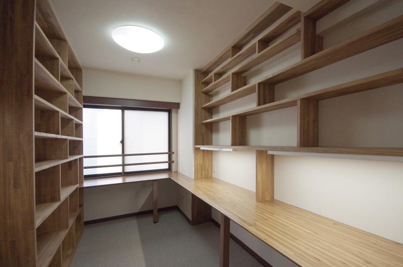 渋谷区幡ヶ谷Y様邸リフォーム-家具造作 (1)