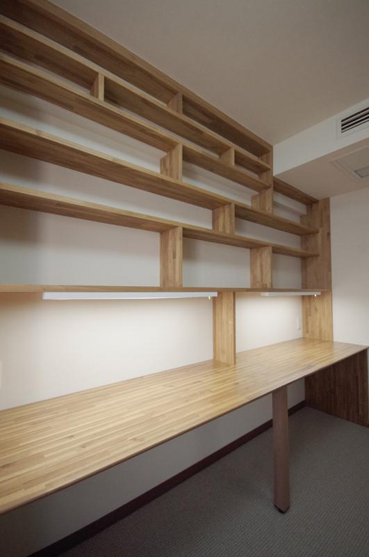 渋谷区幡ヶ谷Y様邸リフォーム-家具造作 (3)