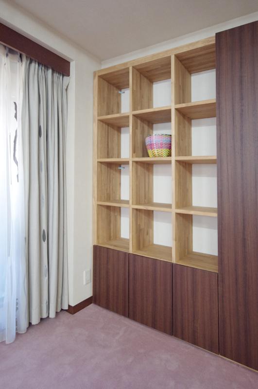 渋谷区幡ヶ谷Y様邸リフォーム-家具造作 (4)